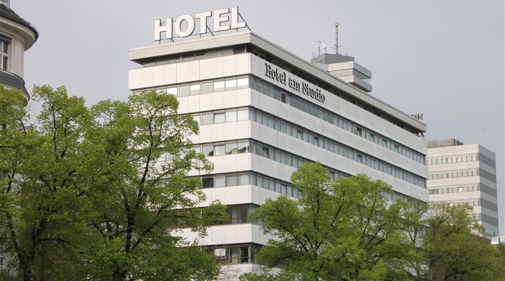Berlijn, Hotel Concorde am Studio, Façade hotel