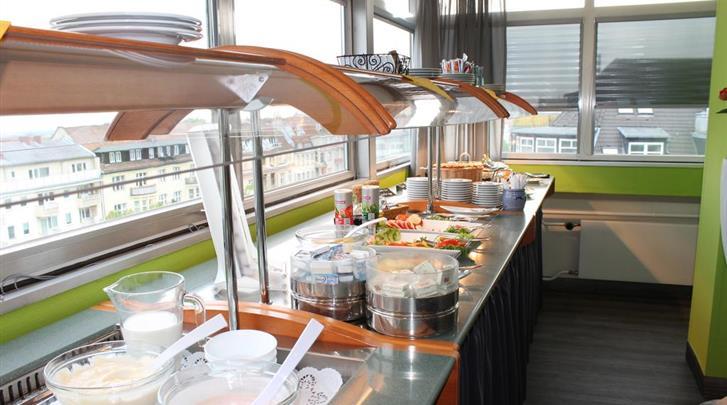 Berlijn, Hotel Concorde am Studio, Ontbijtruimte