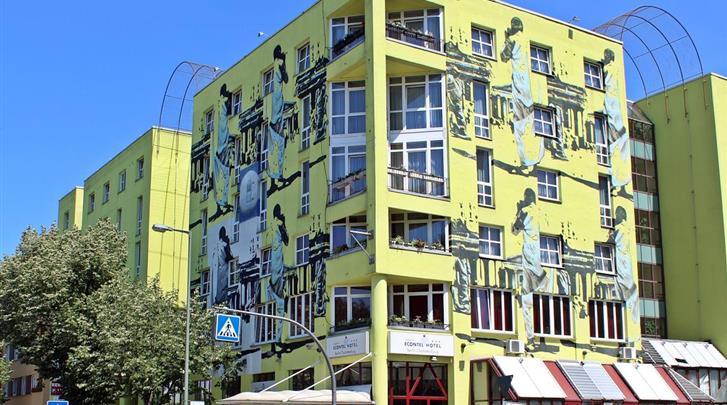 Berlijn, Hotel Econtel Charlottenburg, Façade hotel