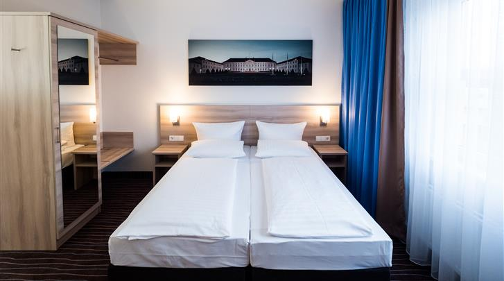 Berlijn, Hotel Econtel Charlottenburg, Standaard kamer