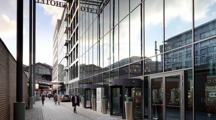 Berlijn, Hotel Eurostars Berlin, Direct naast het station Friedrichstrasse!