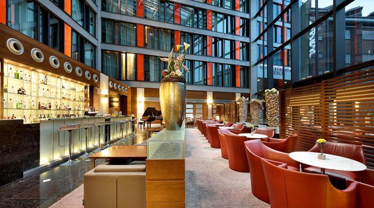 Berlijn, Hotel Eurostars Berlin, Hotelbar