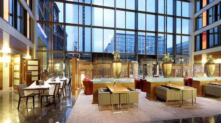 Berlijn, Hotel Eurostars Berlin, Lobby