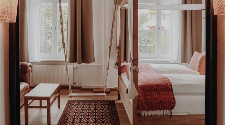 Berlijn, Hotel Lulu Guldsmeden, Deluxe Familiekamer