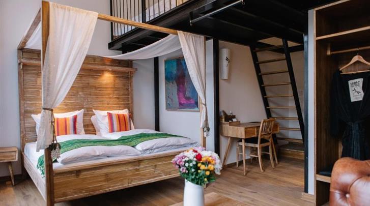 Berlijn, Hotel Lulu Guldsmeden, Deluxe Loft