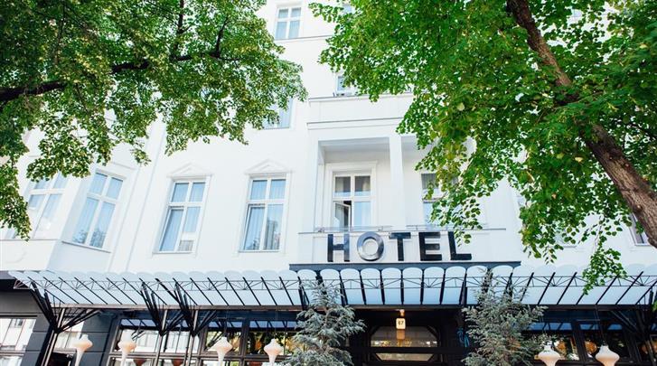 Berlijn, Hotel Lulu Guldsmeden, Façade hotel