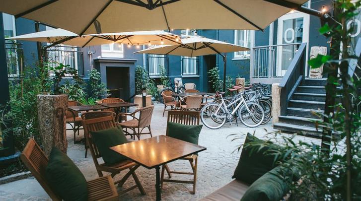 Berlijn, Hotel Lulu Guldsmeden, Patio