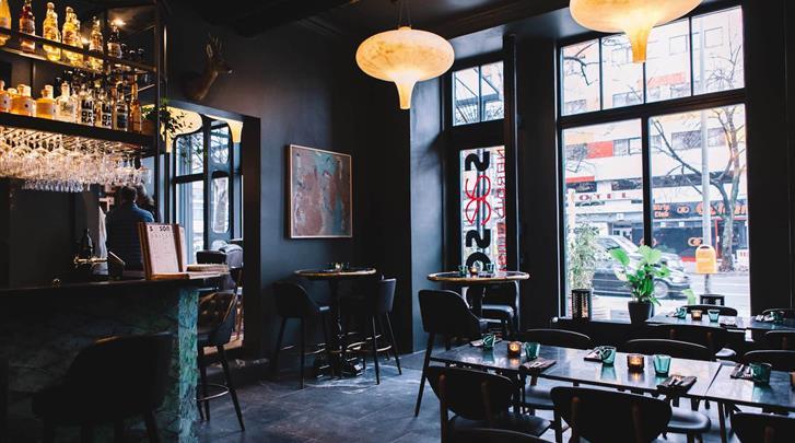 Berlijn, Hotel Lulu Guldsmeden, Restaurant
