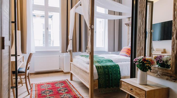 Berlijn, Hotel Lulu Guldsmeden, Superior Familiekamer