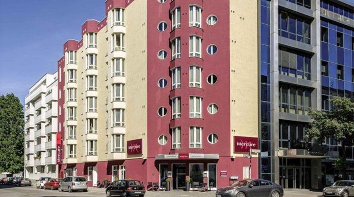 Berlijn, Hotel Mercure Berlin Zentrum, Façade hotel