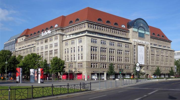 Berlijn, Hotel Mercure Berlin Zentrum, Kaufhaus Des Westens (KaDeWe) op 600m
