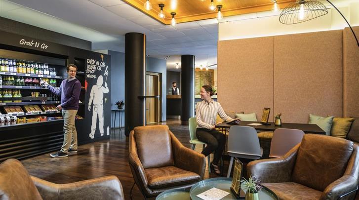 Berlijn, Hotel Mercure Berlin Zentrum, Lobby