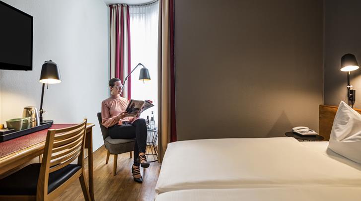 Berlijn, Hotel Mercure Berlin Zentrum, Standaard kamer