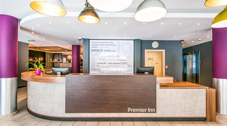 Berlijn, Hotel Premier Inn Berlin City Centre, Receptie