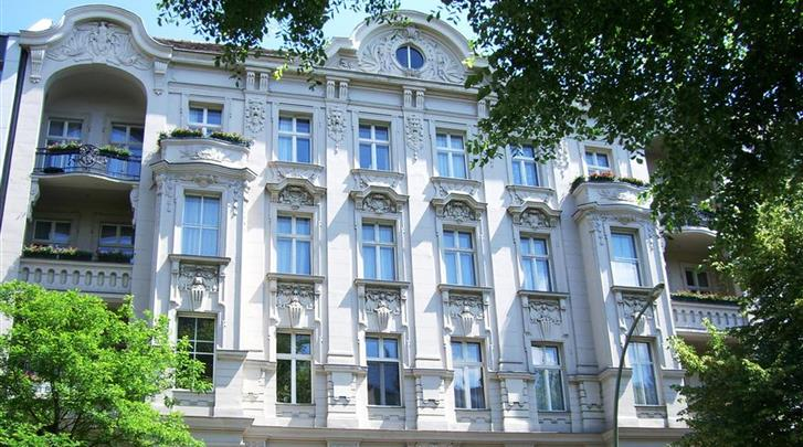 Berlijn, Hotel Seifert, Façade hotel