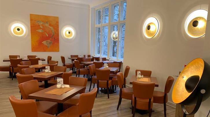 Berlijn, Hotel Seifert, Ontbijtrestaurant