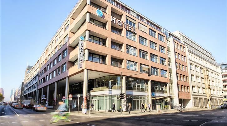 Berlijn, Hotel Select Berlin Gendarmenmarkt, Façade hotel