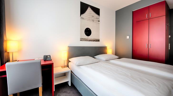 Berlijn, Hotel Select Berlin Gendarmenmarkt, Standaard kamer