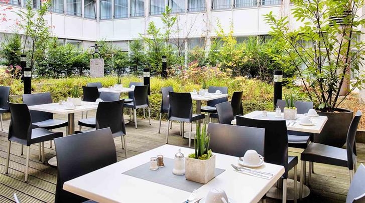 Berlijn, Hotel Select Berlin Gendarmenmarkt, Zonneterras