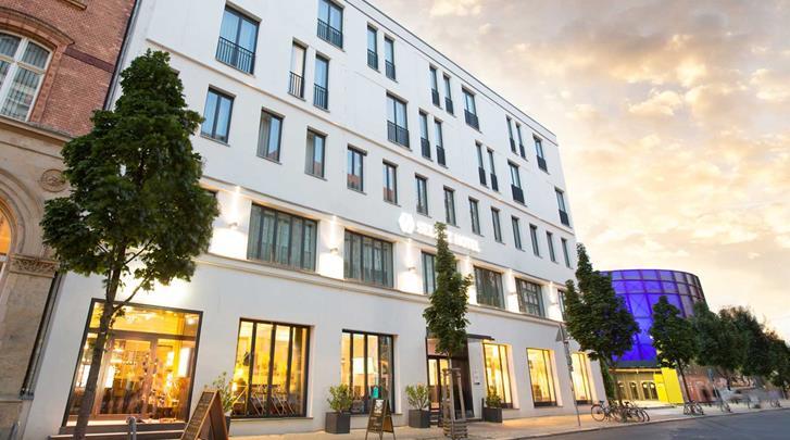 Berlijn, Hotel Select Berlin The Wall, Façade hotel