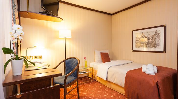 Berlijn, Living Hotel Berlin-Mitte, Eénpersoonskamer