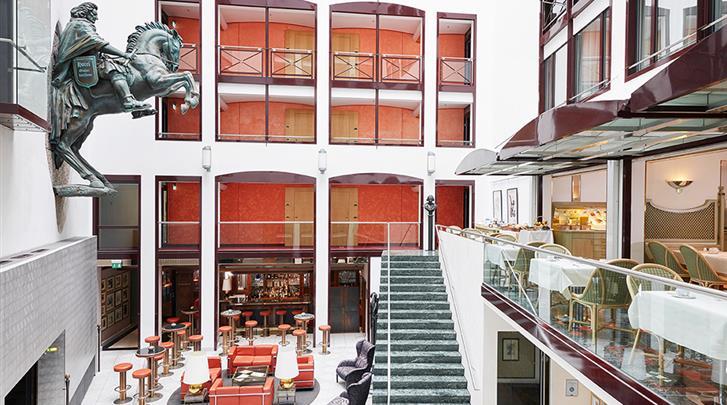 Berlijn, Living Hotel Grosser Kurfürst, Lobby