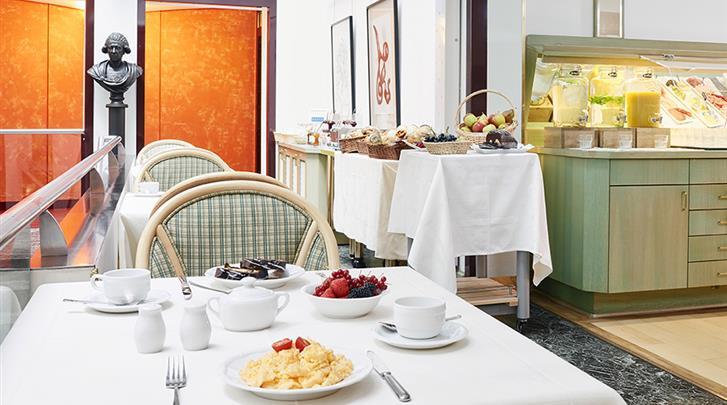 Berlijn, Living Hotel Grosser Kurfürst, Ontbijtrestaurant