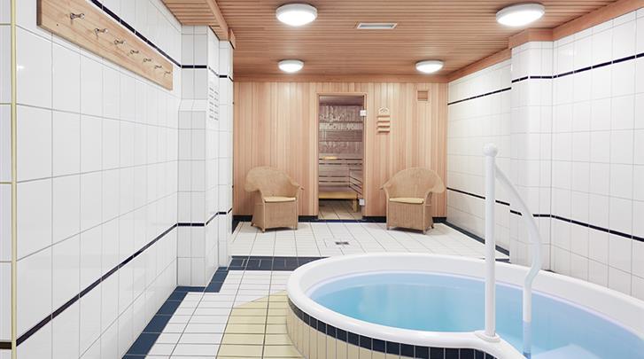Berlijn, Living Hotel Grosser Kurfürst, Sauna