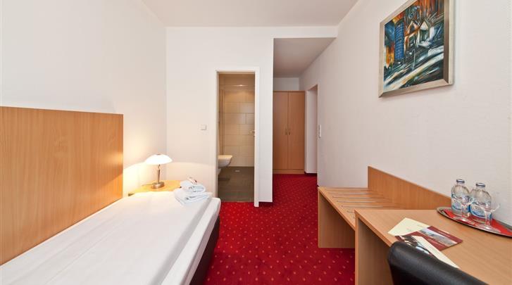 Berlijn, Novum Hotel Aldea Berlin Centrum, Eenpersoonskamer voorbeeld