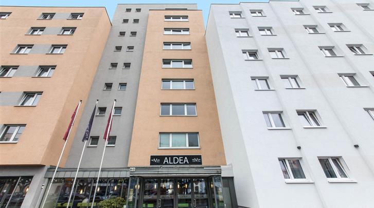 Berlijn, Novum Hotel Aldea Berlin Centrum, Façade hotel