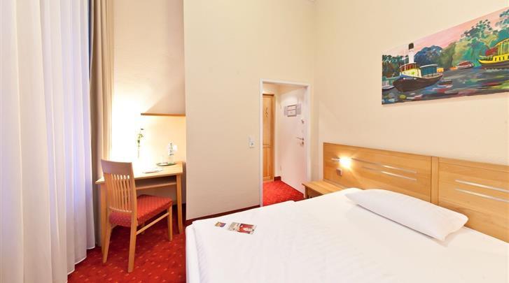 Berlijn, Novum Hotel Gates, Eenpersoonskamer voorbeeld