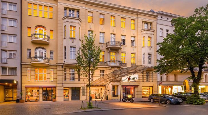 Berlijn, Novum Hotel Gates, Façade hotel