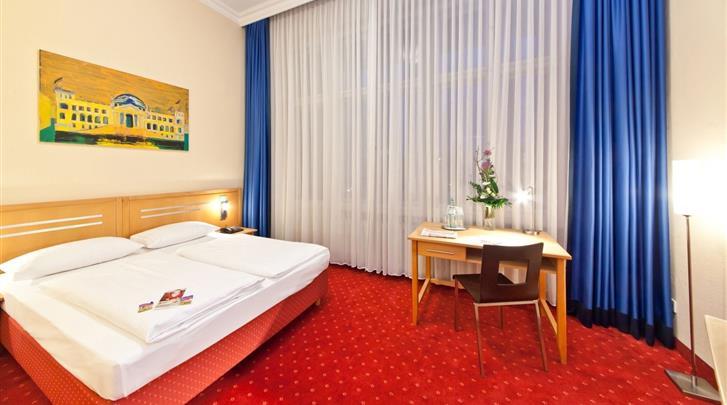 Berlijn, Novum Hotel Gates, Kamervoorbeeld