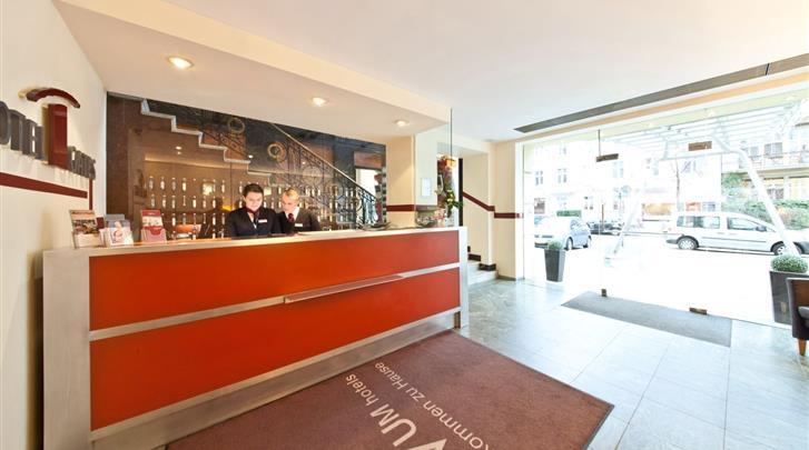 Berlijn, Novum Hotel Gates, Receptie