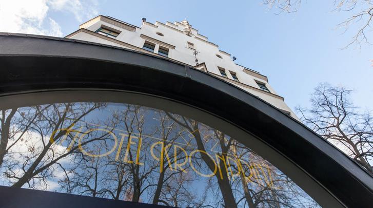 Berlijn, Novum Hotel Kronprinz, Façade hotel