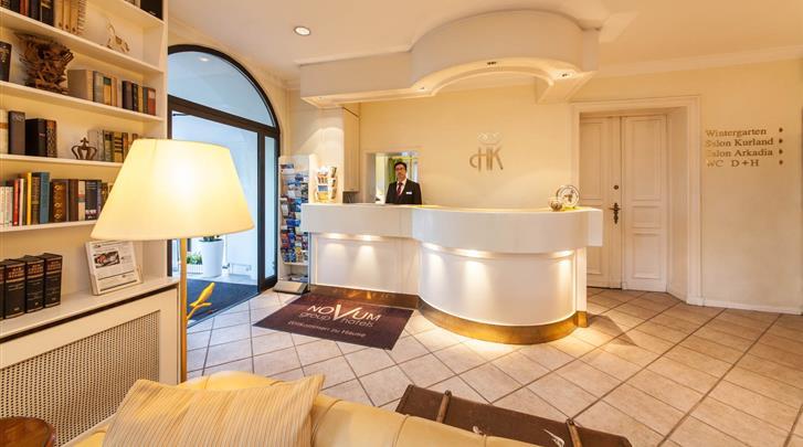 Berlijn, Novum Hotel Kronprinz, Receptie
