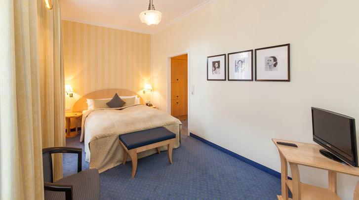 Berlijn, Novum Hotel Kronprinz, Standaardkamer voorbeeld