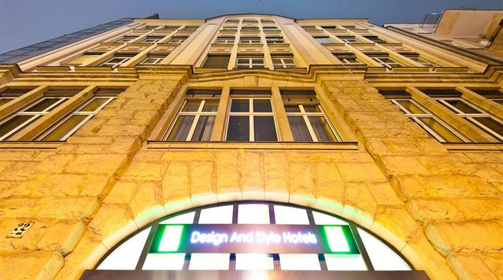 Berlijn, Novum Style Hotel Berlin-Centrum, Façade hotel