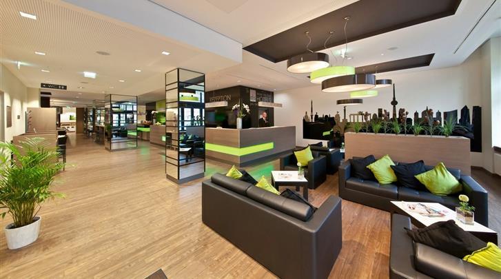 Berlijn, Novum Style Hotel Berlin-Centrum, Lobby