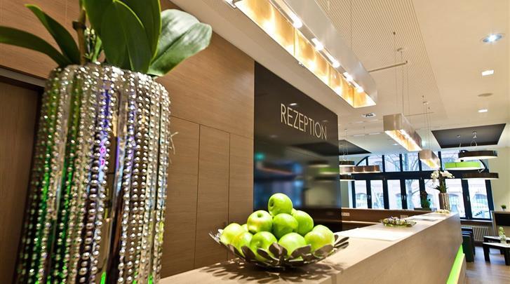 Berlijn, Novum Style Hotel Berlin-Centrum, Receptie