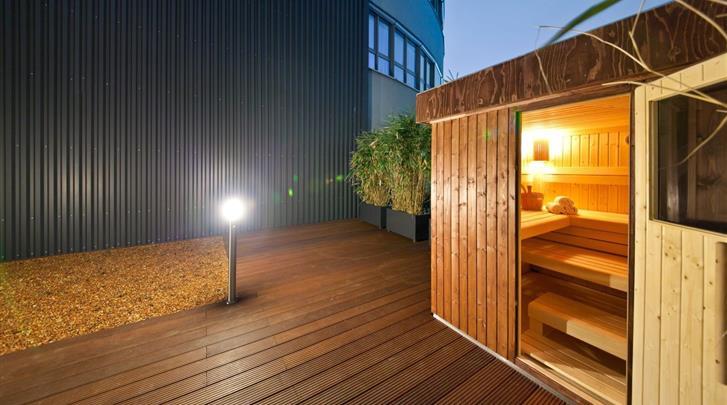 Berlijn, Novum Style Hotel Berlin-Centrum, Sauna