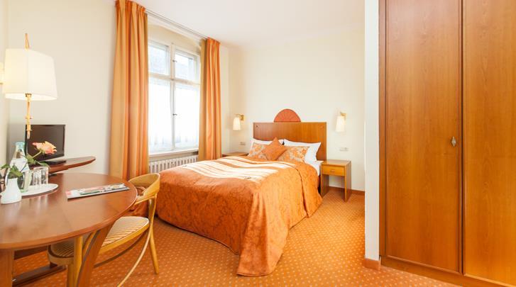 Berlijn, Novum Hotel Kronprinz, Standaard kamer
