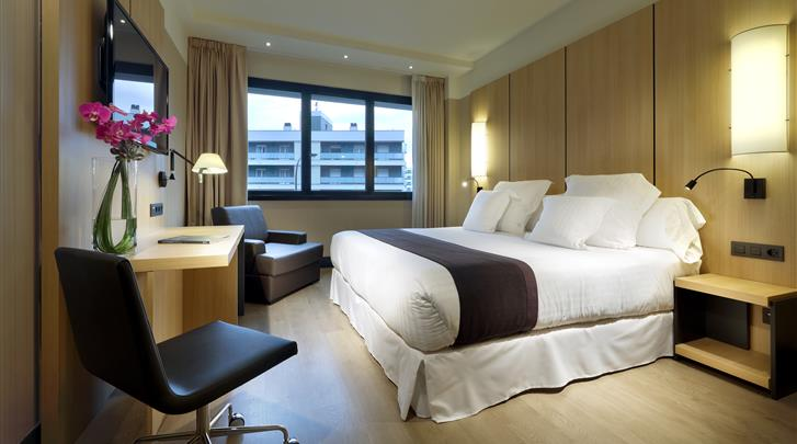 Bilbao, Hotel Barcelo Occidental Bilbao, Standaard kamer