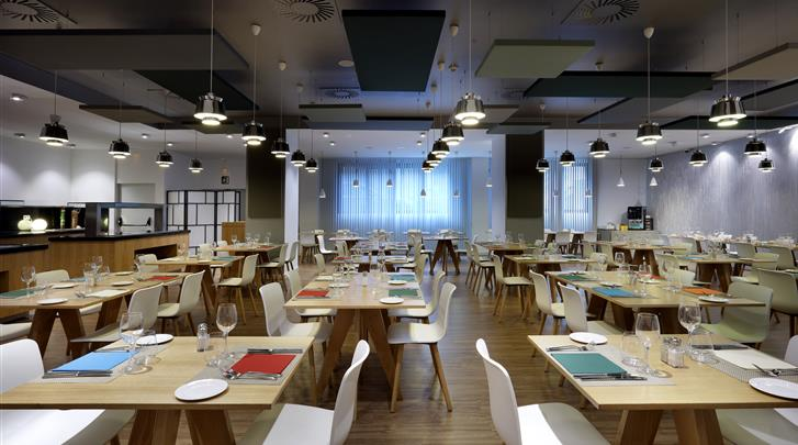 Bilbao, Hotel Barcelo Bilbao Nervion, Restaurant
