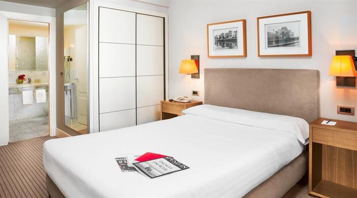 Bilbao, Hotel Ercilla de Bilbao, Standaard kamer