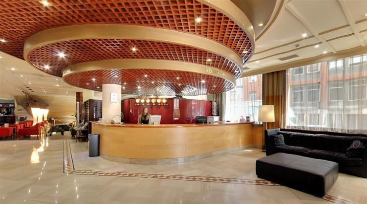 Bilbao, Hotel Silken Indautxu,