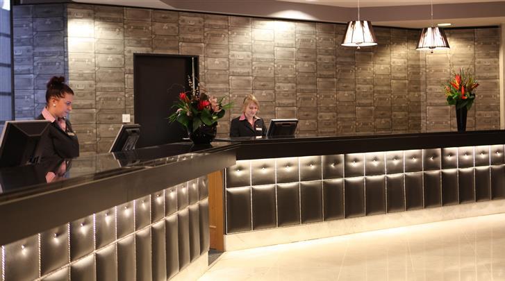 Birmingham, Hotel Jurys Inn, Receptie