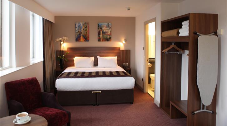 Birmingham, Hotel Jurys Inn, Standaard kamer