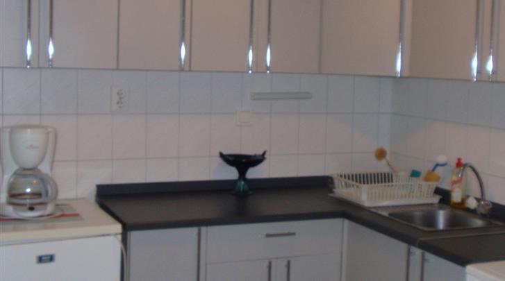 Boedapest, Appartementen Boulevard City, Keuken Studio & Appartement