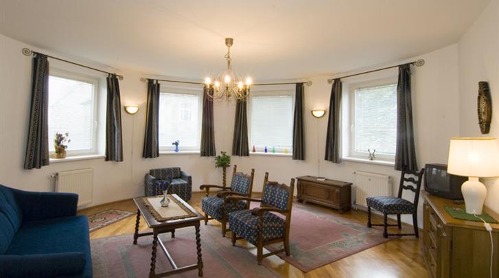 Boedapest, Appartementen Boulevard City, Woonkamer Studio & Appartement